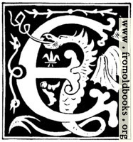 [picture: Decorative initial letter ``E'' from 16th Century]