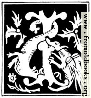 [picture: Decorative initial letter ``I'' from 16th Century]