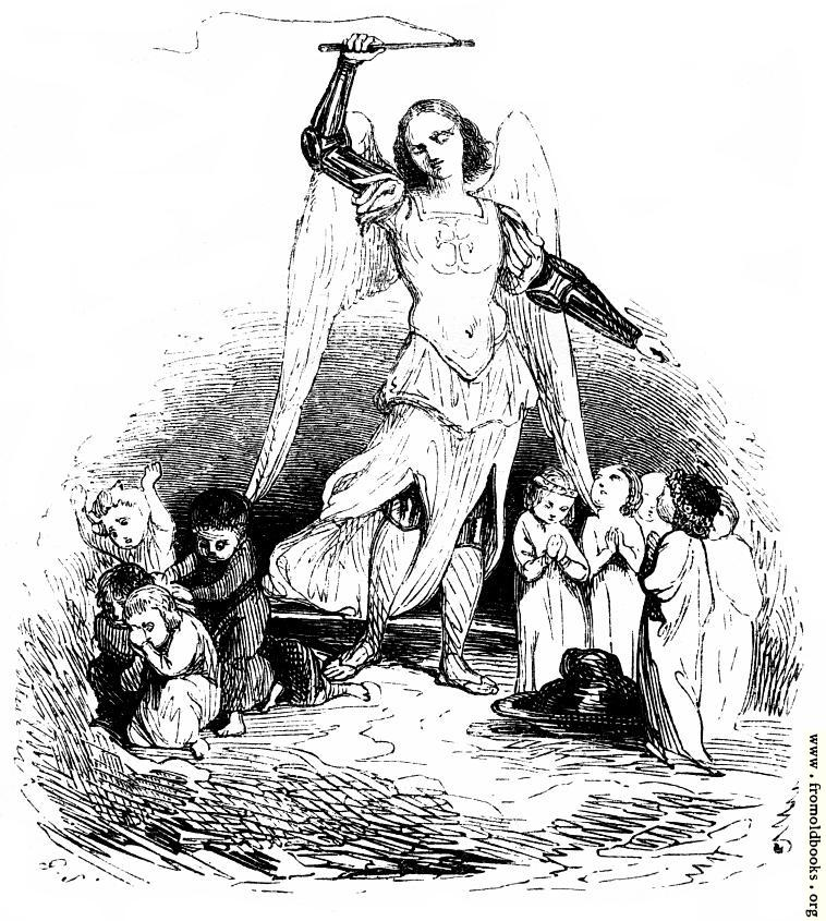 [Picture: Title Page Detail: Angel With Whip]