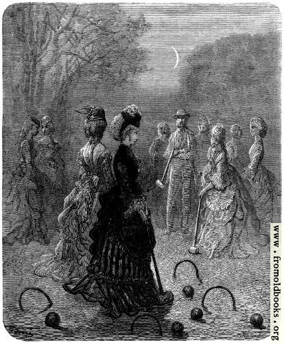 [Picture: Croquet in the Moonlight]