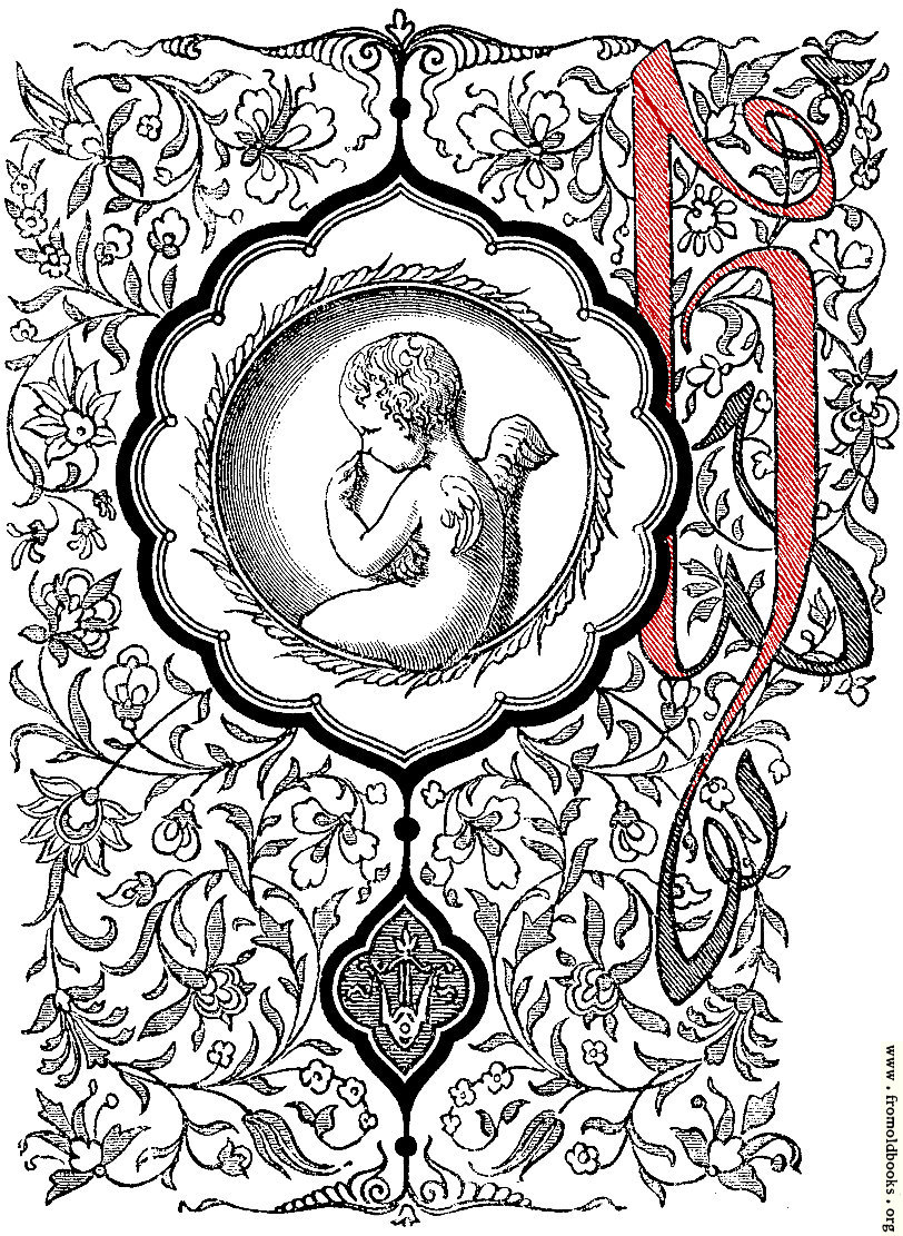 Search results items matching letterh results page 1 elaborate decorative initial letter h with cherub altavistaventures Choice Image