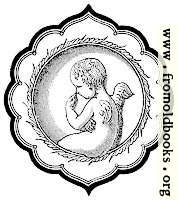 [picture: Cherub in Persian-Style Frame]