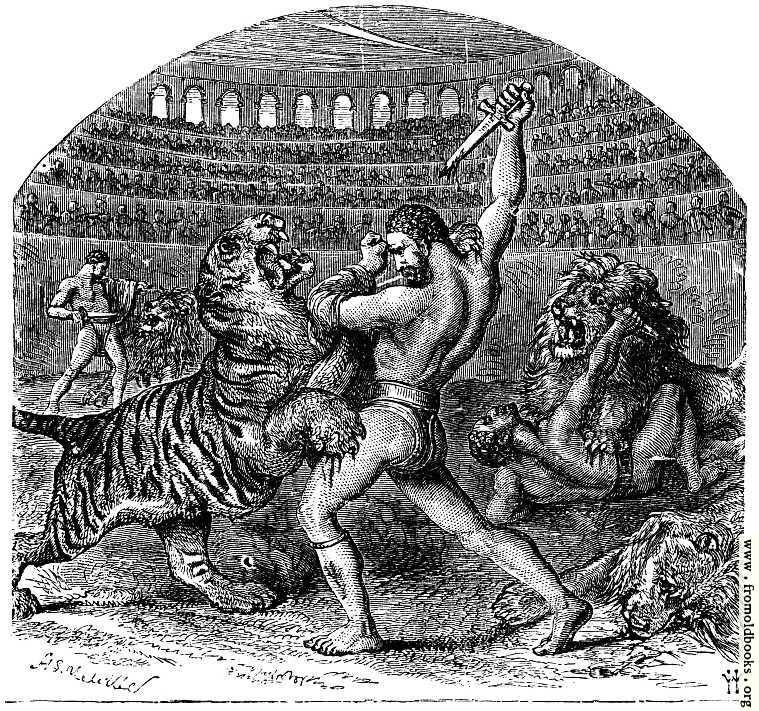 [Picture: Combat of Gladiators with Wild Animals]