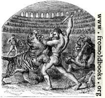 [picture: Combat of Gladiators with Wild Animals]