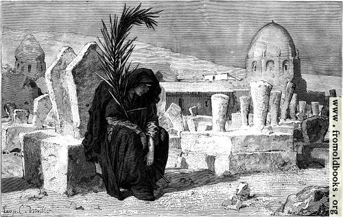 [Picture: Widow Mourning]