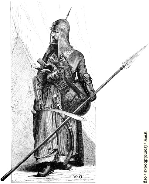 [Picture: A Mameluke in Full Armour.]