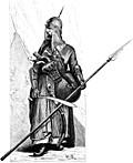 A Mameluke in Full Armour.