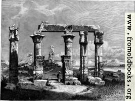 [picture: Colonnade of Medamot at Thebes]