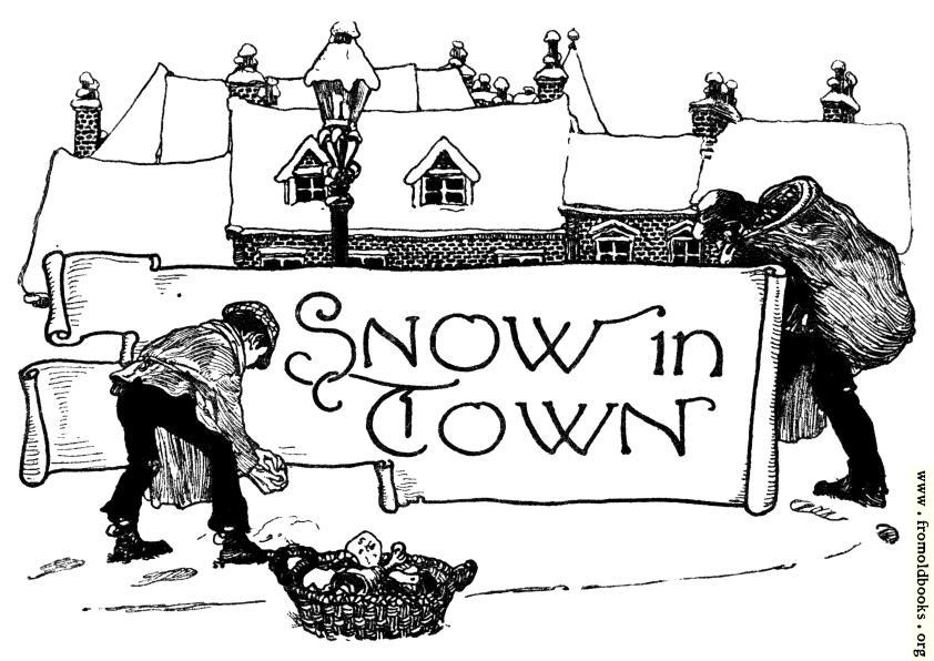 [Picture: Snow in Town]