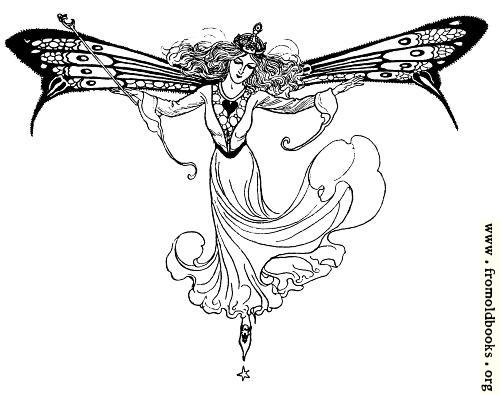 [Picture: Queen Mab (version without the words)]