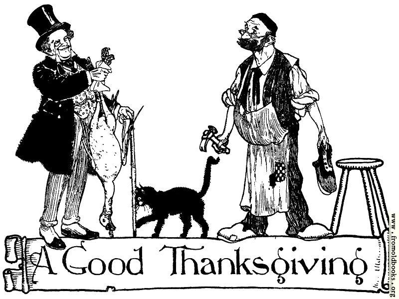 [Picture: A Good Thanksgiving]