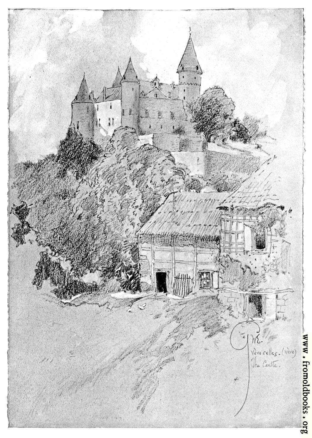 [Picture: The Castle. Vève-Celles.]