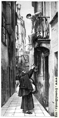 [Picture: Fraile mendicante, en Venecia.]