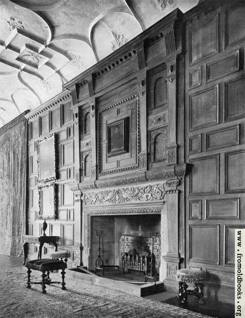 [Picture: 117.—Mantelpiece in the Gallery]