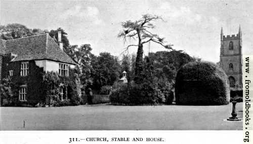[Picture: 311.—Avebury Manor, Wiltshire]