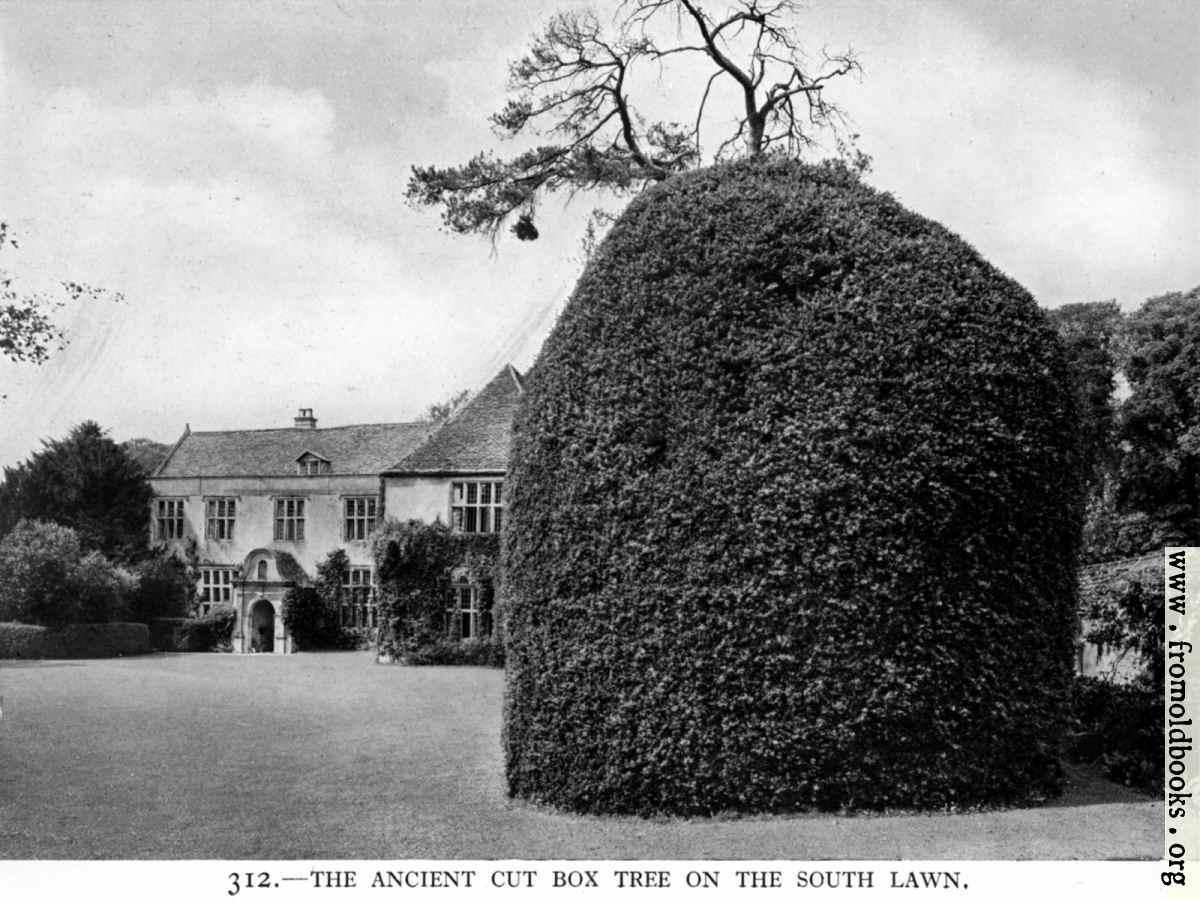[Picture: 312.—Avebury Manor, Wiltshire]