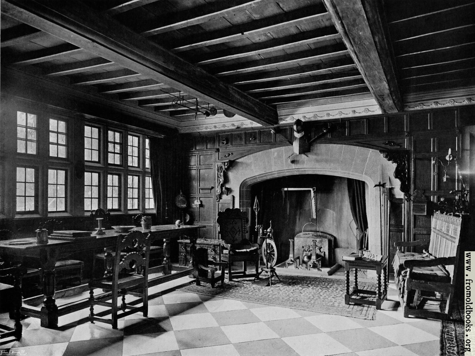 [Picture: 369.—The West End Of The Hall.]