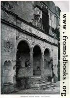 [picture: Cranborne Manor House: The Loggia]