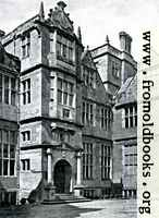 [picture: Condover Hall, Shropshire: Corner of the North Elevation]
