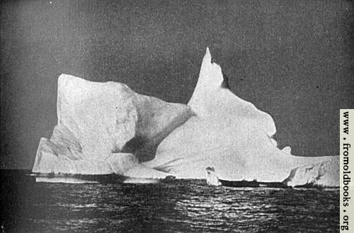 [Picture: Frontispiece 1: A Titan of the polar sea lazily drifting with the current]