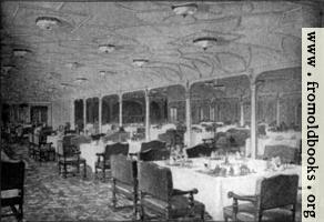 [picture: Frontispiece 2: Grand Dining Saloon---S.S. Titanic.]