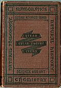 [Picture: Front Cover of Evers' 'Steam and the Steam Engine']