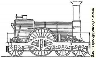 [picture: Great Western express engine]