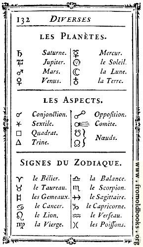 [Picture: 132.—Diverses: Les Planètes.]