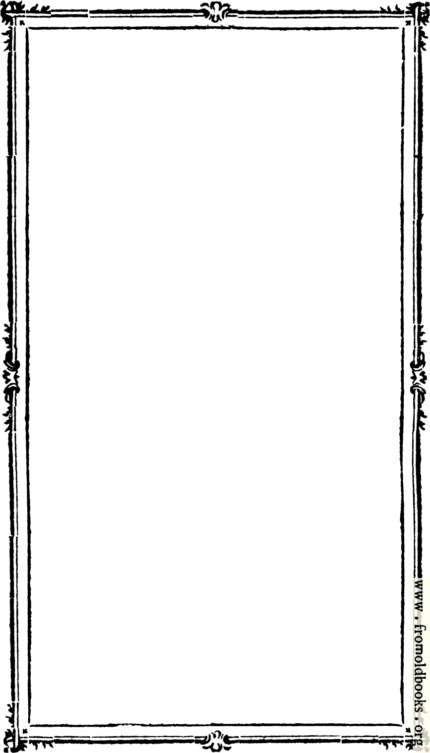 free clip art eighteenth century border from figures pour les missels rh fromoldbooks org Autumn Border Clip Art Black Frame Clip Art