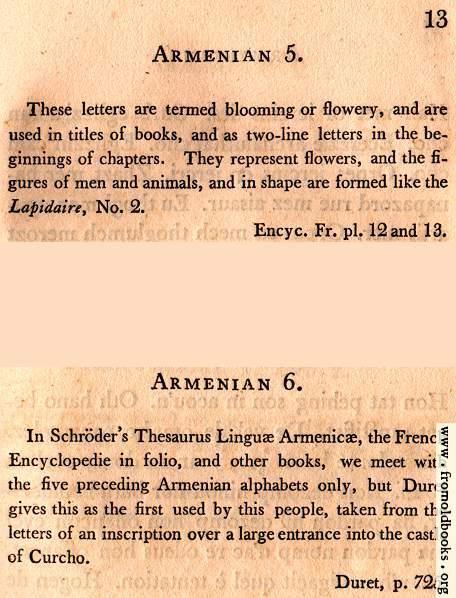 [Picture: Page 13: Armenian (English Description)]