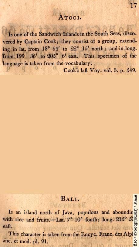 [Picture: Page 17: Atooi (English Description)]