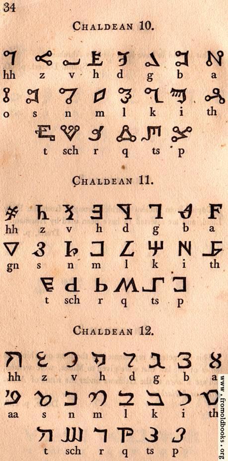 [Picture: Page 34: Chaldean]