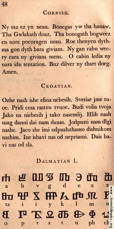 [Picture: Page 48: Cornish; Croatian; Dalmation]