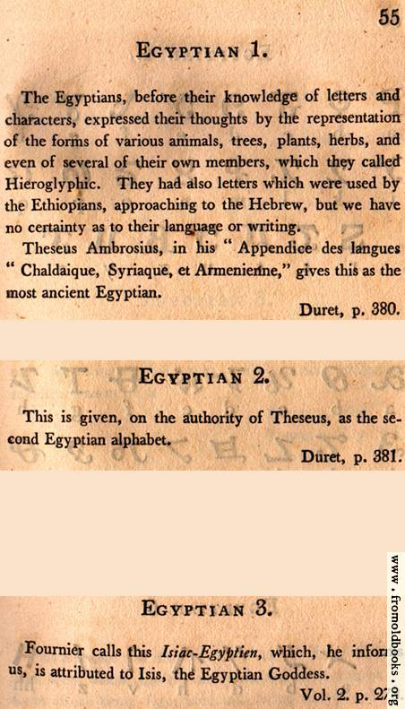 [Picture: Page 55: Egyptian (English description)]