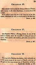[picture: Page 39: Chaldean (English description)]
