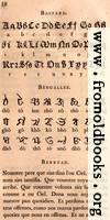 [picture: Page 18: Bastard; Bengallee (Bengali)?; Berryan]