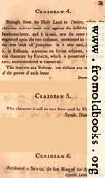 [picture: Page 31: Chaldean (English description)]