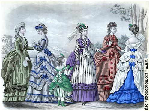 [Picture: Godey's Fashions for May 1870]