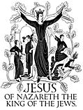 [Picture: Engraving: Jesus King of the Jews]