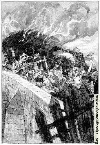 [Picture: Battle on the Bridge]