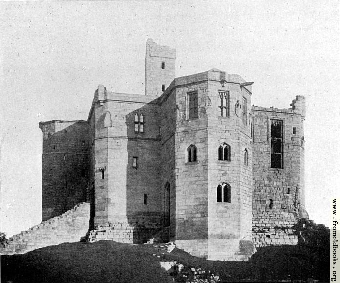 [Picture: 45. Warkworth Castle, Northumberland]