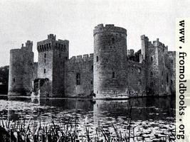 18.  Bodiam Castle, Sussex (1386)