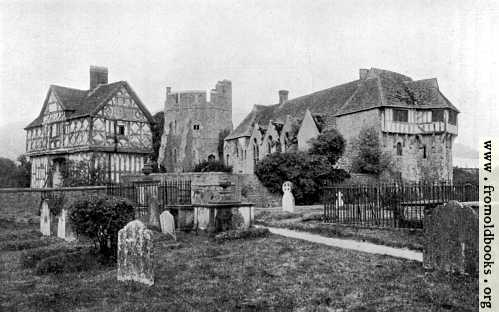 [Picture: 21. Stokesay Castle (General View)]