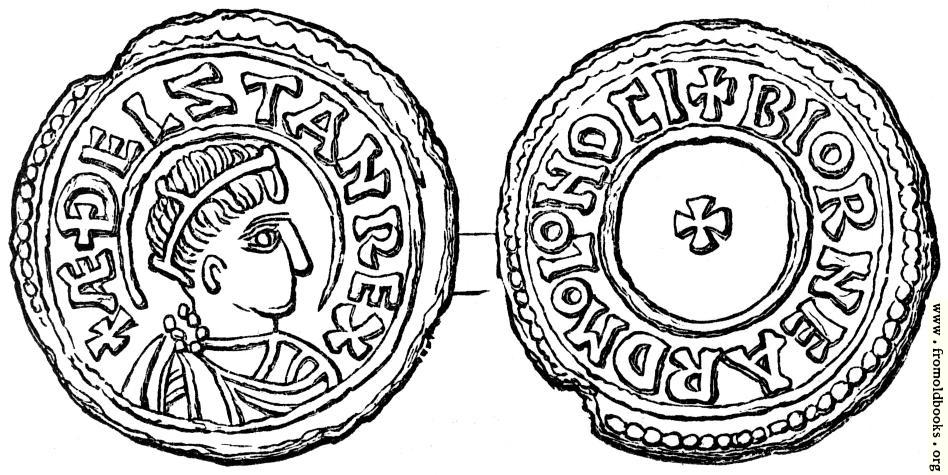 [Picture: Coin of Æthelstan]