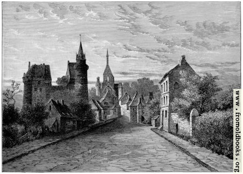 [Picture: Durtal, Anjou.]