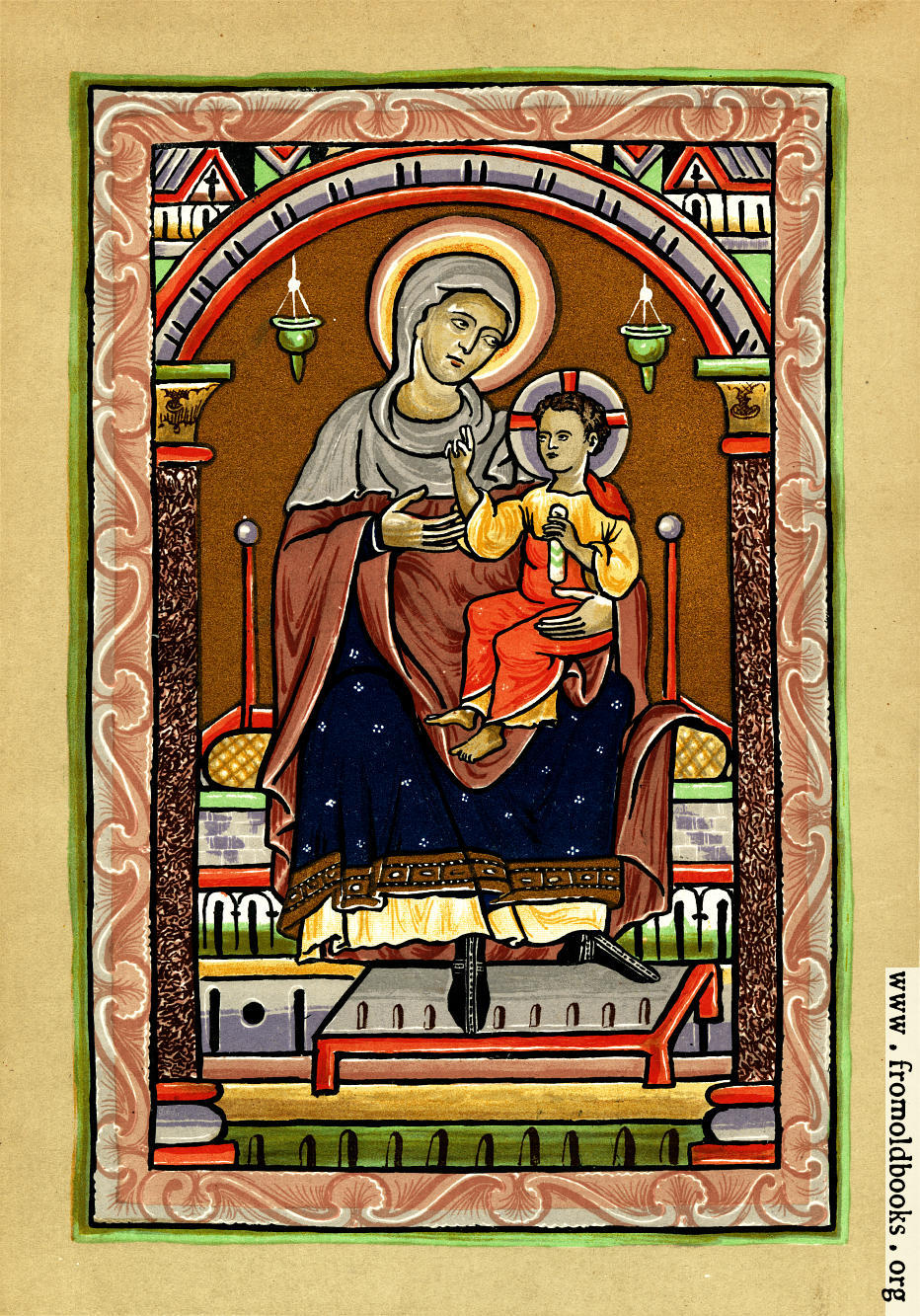 [Picture: The Virgin and Child]