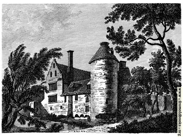 [Picture: Ostenhanger House, Kent, Plate I]