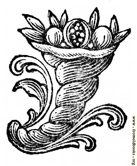 [Picture: Ornament: Cornucopia]
