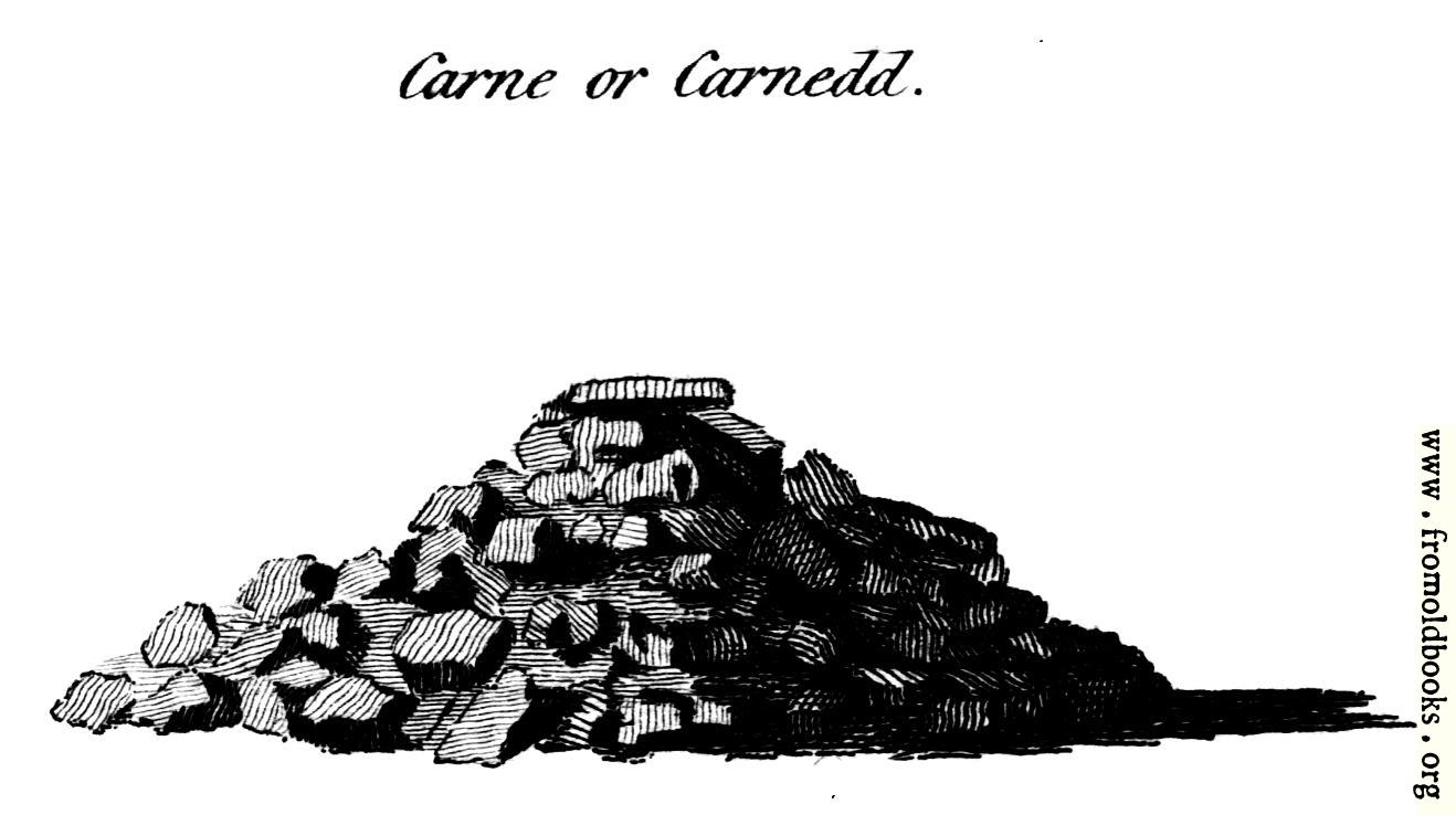 [Picture: Carne or Carnedd, from the Druidical Antiquities plate]
