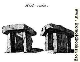Kist-vain, from the Druidical Antiquities plate